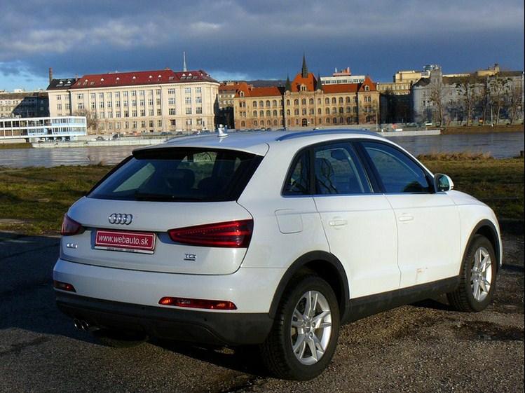 Audi Q3 2.0 TDi CR S-Tronic