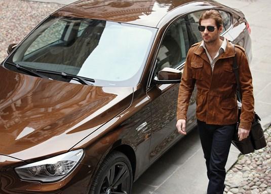BMW v koži od Trussardi